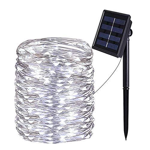 aifulo Guirnaldas Luces Exterior Solar,aifulo 20m 200 LED Cadena de Luces,8 Modos...