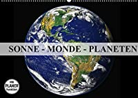 Sonne, Monde und Planeten (Wandkalender 2022 DIN A2 quer): Die Himmelskoerper in unserem Sonnensystem (Geburtstagskalender, 14 Seiten )