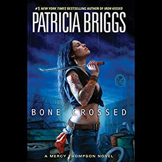 Bone Crossed     Mercy Thompson, Book 4              Written by:                                                                                                                                 Patricia Briggs                               Narrated by:                                                                                                                                 Lorelei King                      Length: 9 hrs and 7 mins     35 ratings     Overall 4.8