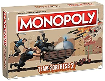 USAOPOLY Monopoly Team Fortress 2 Board Game   Based on Team Fortress 2 Video Game   Officially Licensed Team Fortress 2 Merchandise   Themed Classic Monopoly Game