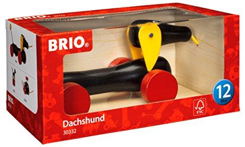 BRIO Infant & Toddler - Pull-along Dachshund Dog