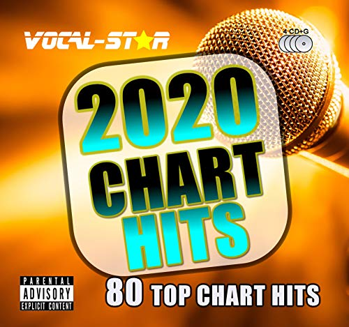 Vocal-Star 2020 Karaoke Chart Hits 80 Songs on 4 CDG Discs. The Top 80...