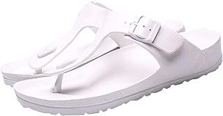 Corriee Mens Thong Sandals Summer Slippers Indoor Outdoor Flat Shoes Beach Flip Flops