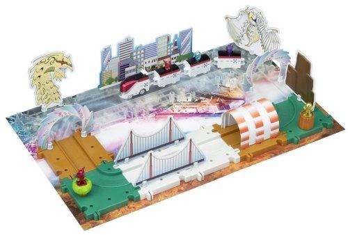 Kamen Rider Den-O Block Rail time leaping DenLiner Set