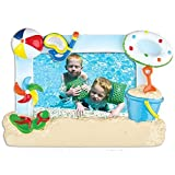 Grantwood Technology Personalized Christmas Ornament KIT Picture Frame- 1ST Day at The Beach Frame KIT