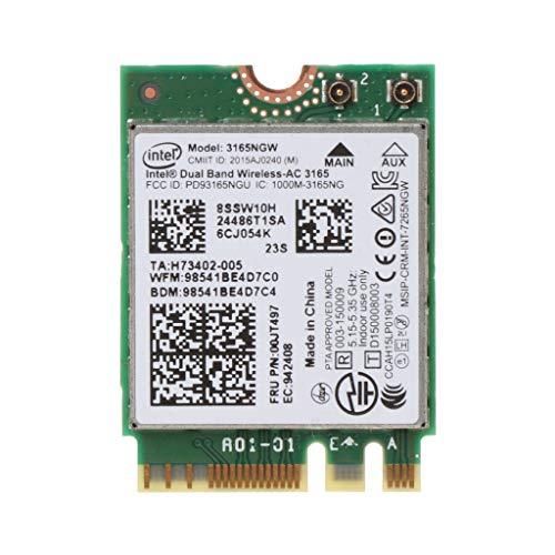 Yintiod WLAN Karte WLAN Stick, BCM94352HMB AW-CE123H 802.11ac 867 Mbit/s 2,4 / 5G Bluetooth 4.0 WiFi Wireless-Karte