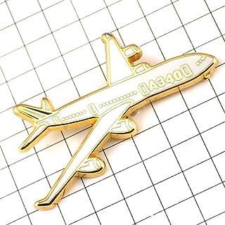 限定 レア ピンバッジ エアバス340/飛行機エールフランス航空 ピンズ フランス