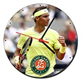 Rafa Nadal Roland Garros Reloj de Pared Wall Clock 20cm