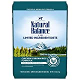 Natural Balance Dry Dog Food with Grains