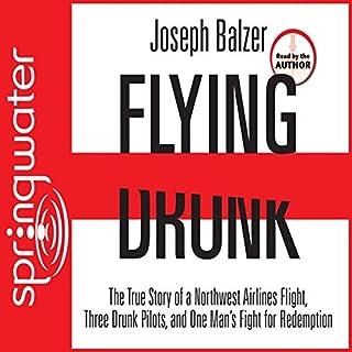 Flying Drunk audiobook cover art