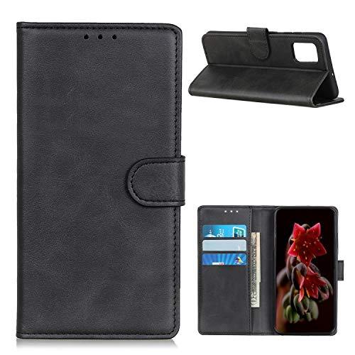 """Capa Capinha Carteira 360 Para Motorola Moto G9 Plus com Tela de 6.8"""" polegadas - Case Couro Flip Wallet Anti Impacto - Danet (Preta)"""