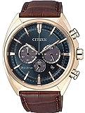 Chrono Orologio solare Citizen Eco-Drive elegante orologio da polso da uomo CA4283-04L