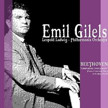 """Beethoven: Piano Concerto No. 5 in E Flat, Op. 73, """"Emperor Concerto"""""""