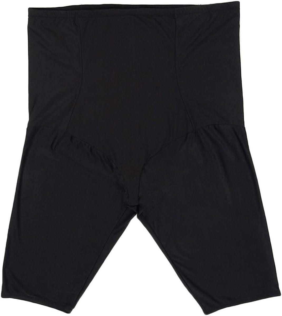 Dominique Womens Claire Medium Control Bodysuit Black 6XL One Size