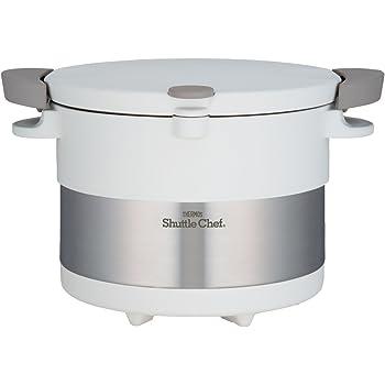 サーモス 真空保温調理器 シャトルシェフ 3.0L ピュアホワイト KBC-3001 PWH