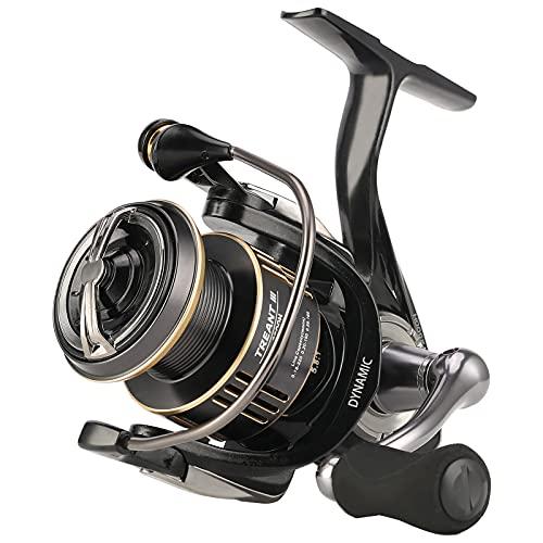 SeaKnight Treant III Carrete Giratorio de Agua Dulce 5.0:1 5.8:1 Carrete de Pesca de Carpas 2500 Arrastre máximo 20 lbs   9 kg