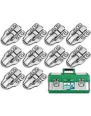 KARAA 10 stuks koffersluiting klapsluiting spansluiting antieke doos zilver slot gesp voor medicijnbox airbox cosmeticakoffer toolbox 60 x 40 metalen hefboomsluiting kistsluiting