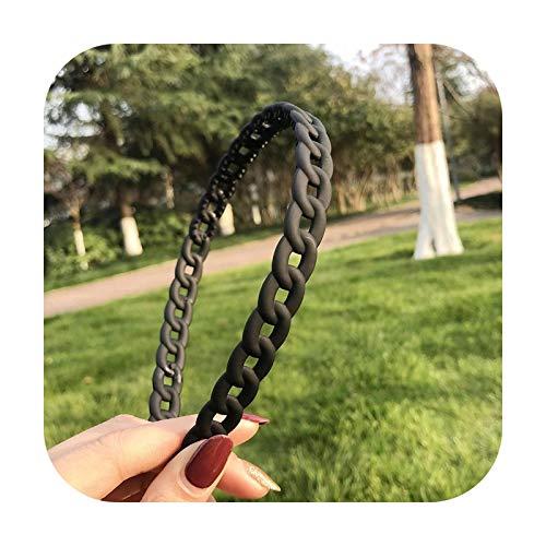 Hopereo 2021 Bandeaux de luxe pour femme et fille avec grand nœud tournesol Accessoire tendance Noir