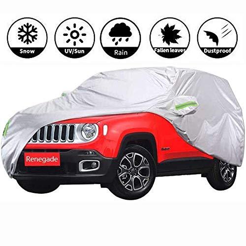 Resistente al agua impermeable Sun UV Car Cover, Impermeable Cubierta Del Coche SUV Ajuste Personali