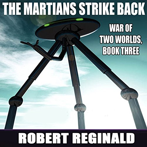 The Martians Strike Back! audiobook cover art