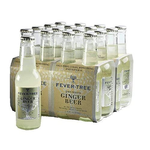 Fever Tree Ginger Beer, 200ml, 24 Bottles