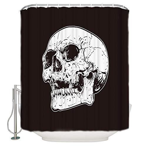 cortinas negras modernas
