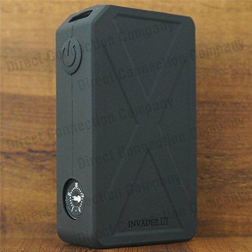Silicone Case for Tesla Invader 3 III ModShield ByJojo 240W Skin Sleeve Cover (Black)
