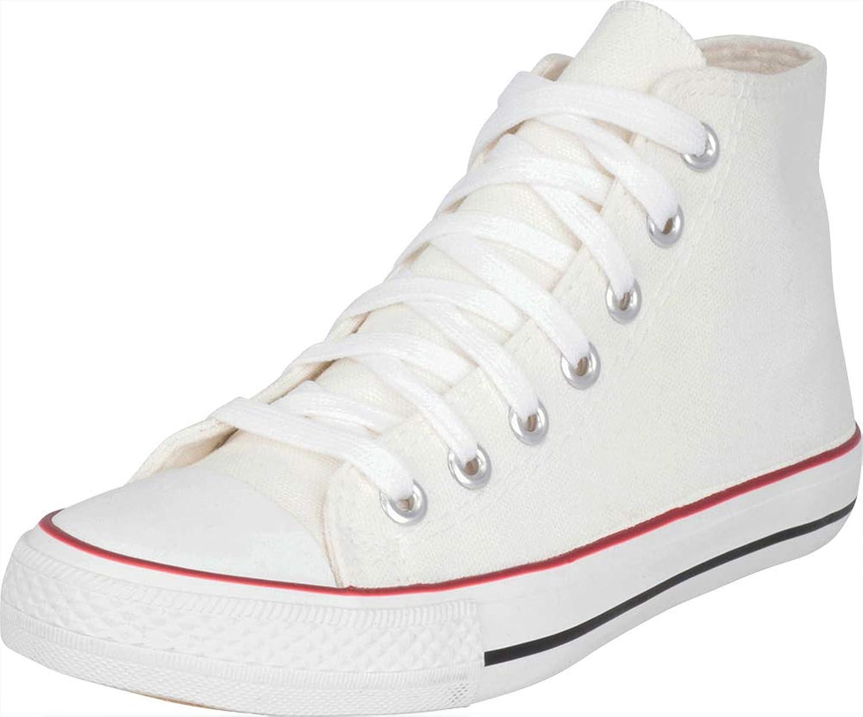 Cambridge Select Woherrar Classic High Cap Toe Toe Toe duk Lace -Up mode skor  hitta din favorit här