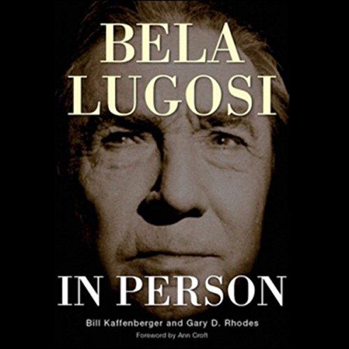 Bela Lugosi in Person cover art
