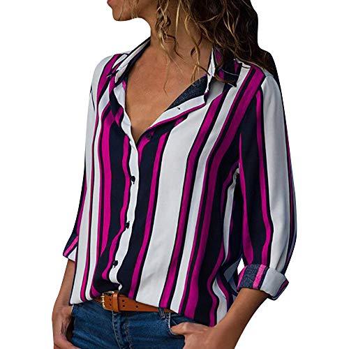ITISME FRAUEN BLUSE Damen reich blumen button-down-hemd mit kurzen ärmeln one rosa7 xxx-large