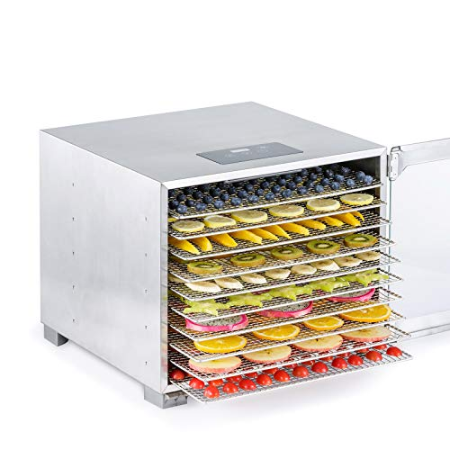 %10 OFF! Biochef Kalahari Food Dehydrator - Premium All Stainless Dehydrator for Food - BPA free, LE...