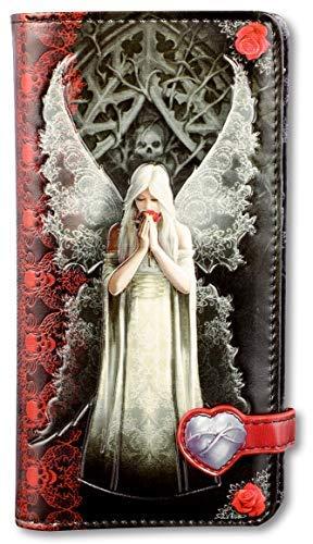 Fantasy-Geldbörse mit Gothic Engel - Only Love Remains - geprägt | Geldbeutel, Mehrfarbig by Anne Stokes