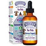 Sovereign Silver for Pets Bio-Active Silver Hydrosol for Immune Support* - 4oz Dropper – The Ultimate Refinement of Colloidal Silver - Safe*, Pure and Effective* - Premium Silver Supplement
