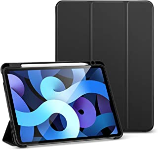 ESR Folio Case for iPad Air 4 2020 10.9 Inch [Pencil Holder] [Soft Flexible Case] [Trifold Stand Cover] Rebound Series - B...