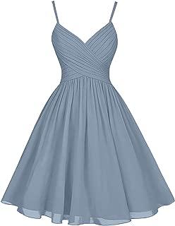 Best v neck bridesmaid dresses knee length Reviews
