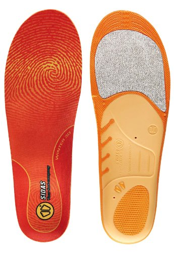 Sidas Sohlen Winter 3D, Orange, M : 39-41