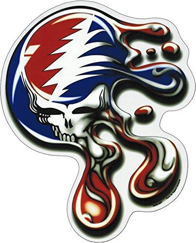 Grateful Dead - Melt Your Face - Jumbo 8' x 10' - Sticker / Decal