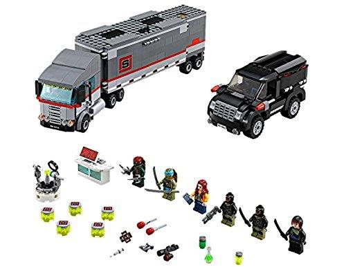 LEGO Ninja Turtles 79116 - Flucht mit dem Sattelzug