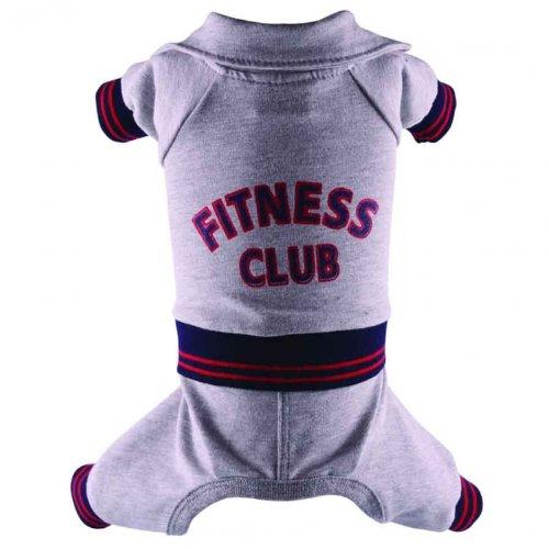 Doggydolly Jogging pour Chien Fitness Club Gris de