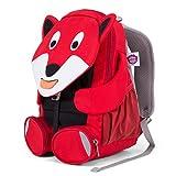Affenzahn Kinderrucksack für 3-5 Jährige im Kindergarten - Fiete Fuchs - Rot