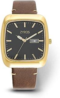 زايروس ساعة رسمية للرجال ، انالوج بعقارب - ZY532M010702