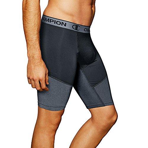Champion Men's PowerFlex 9' Solid Compression Shorts
