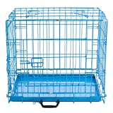 Easipet Blue Metal Dog Cages In 5 Sizes (42' XX-Large)