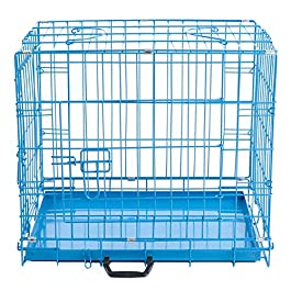 Easipet Blue Metal Dog Cages In 5 Sizes