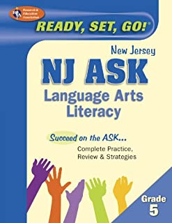 NJ ASK Grade 5 Language Arts Literacy (New Jersey ASK Test Preparation)
