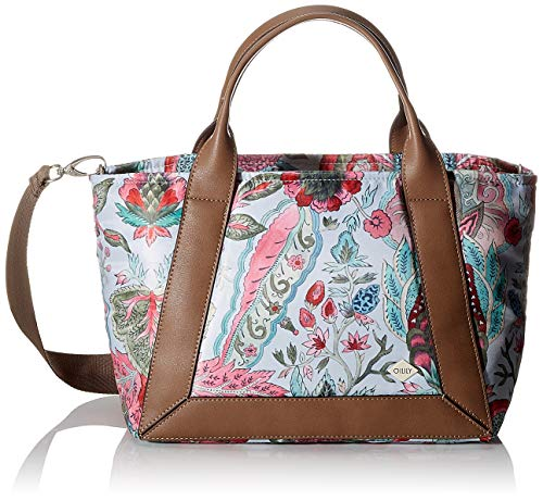 Oilily Damen Mirador Handbag Lhz Henkeltasche, Grau (lightgrey), 18x24x44 cm