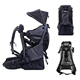 QINGTIAN Carrier Backpack Premium Comfort Lightweight Framed Baby Hiking Backpack Convertible Carrier for Hiking,Housework with Kids