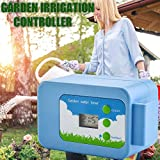duhe189014 Automatic Plant Watering Pump Controller Electronic Timer DIY Micro-drip Irrigation System Water Pump Button Type Flower Sprayer Automatic Watering Device Intelligent Controller