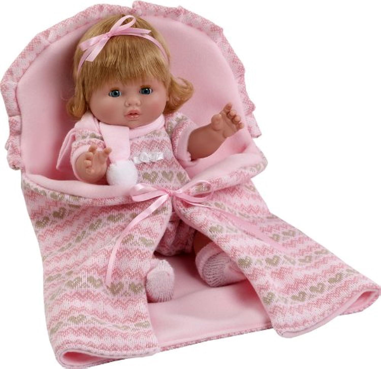 Berbesa 3203 Baby Chusin Vinyl Doll, 34 cm, Multi Colour
