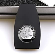 Hikig New Metal Apple Tree Badge Key Cover for Mercedes Benz A0008900023 AMG Logo Badge W204 W212 W218 W221 W166 (1 Pcs)